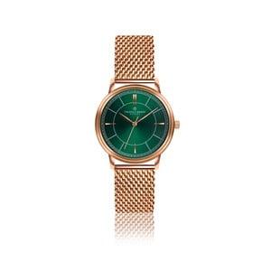 Unisex hodinky z nerezové oceli s páskem v barvě růžového zlata Frederic Graff Roland