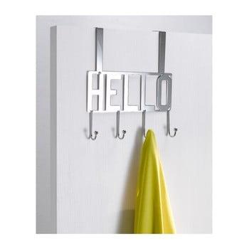 Cuier suspendat pentru ușă Compactor Hello, 4 cârlige imagine