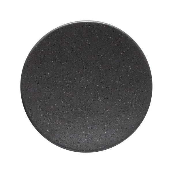 Farfurie din gresie ceramică Costa Nova Roda Ardosia, ⌀ 16 cm, gri