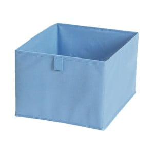 Modrý textilní úložný box Jocca, 30x30cm