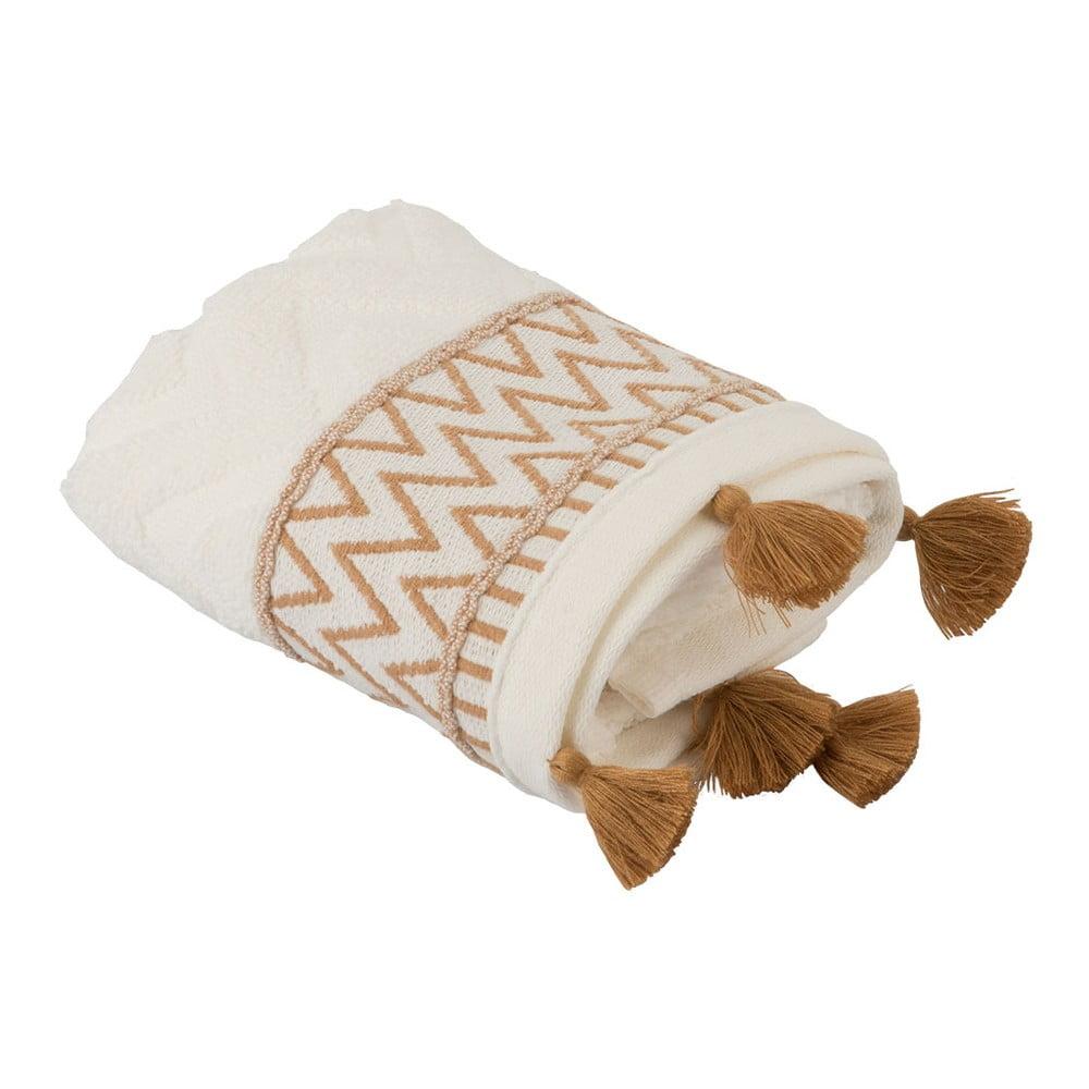 Sada 2 bílo-hnědých ručníků Bella Maison Karma, 30 x 50 cm