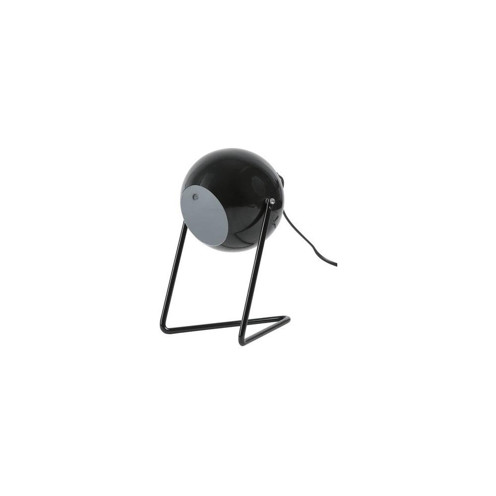 Černá kovová lampička Vox Emo