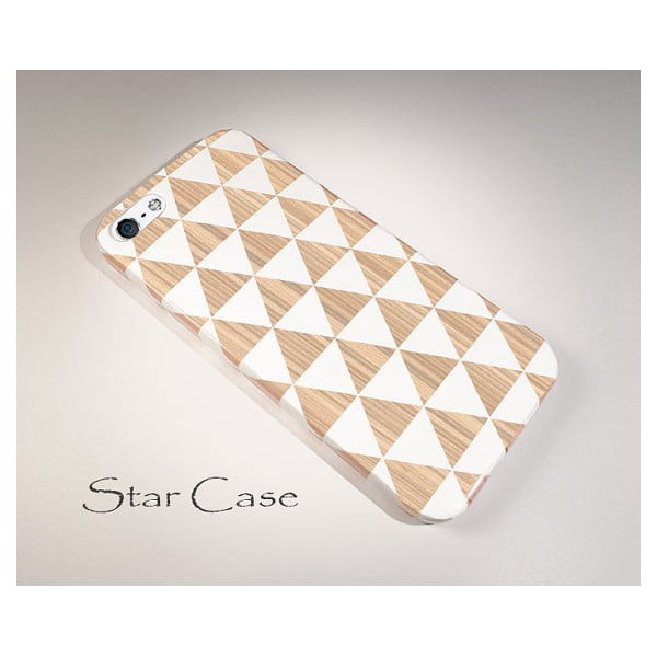 Obal na Samsung Galaxy S3 White Triangles
