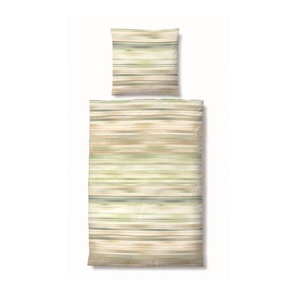 Povlečení Maco Jersey Mix Green, 135x200 cm