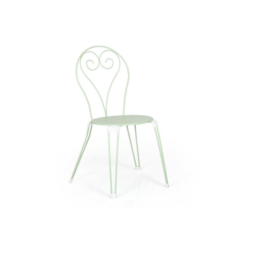 Sada 4 zelených zahradních židlí Brafab Odessa