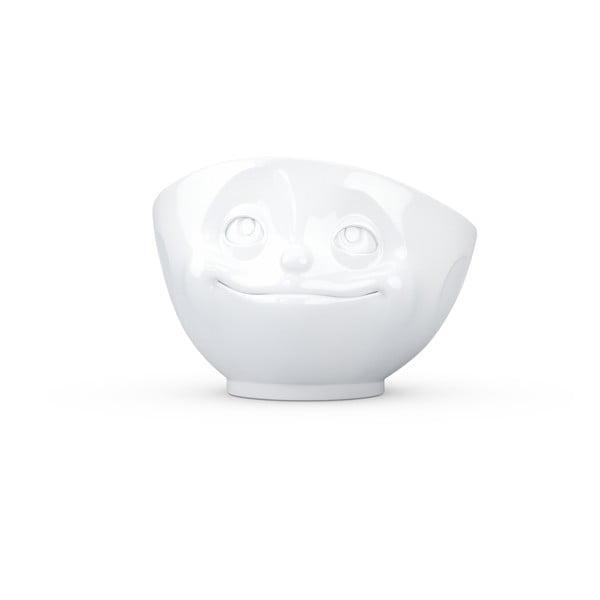 Bílá porcelánová zamilovaná miska 58products