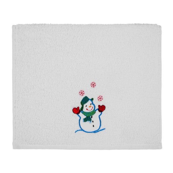 Prosop Christmas White Snowman, 30 x 50 cm