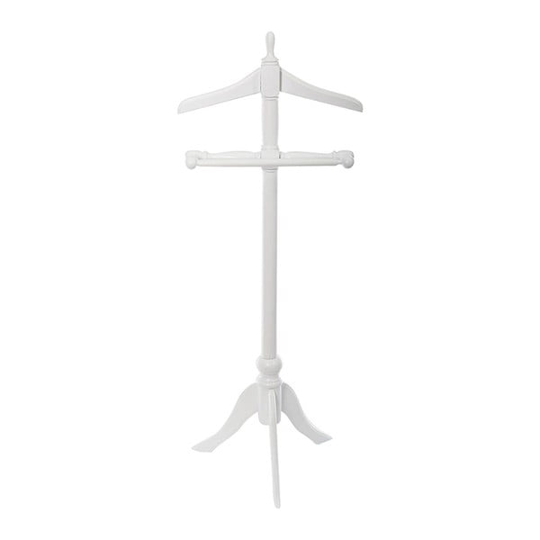 Němý sluha Servant White, 37x47x115 cm