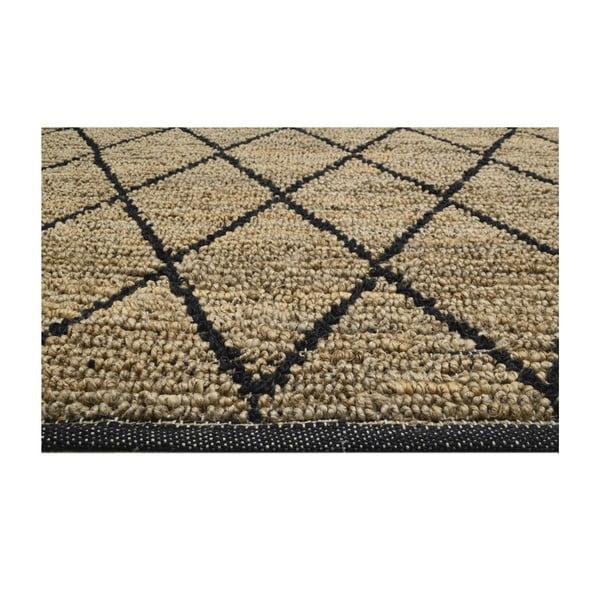 Ručně tkaný koberec z juty Bakero Sacramento, 160x230cm