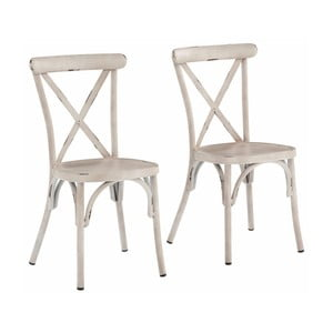 Sada 2 bílých bukových židlí Støraa Lancier