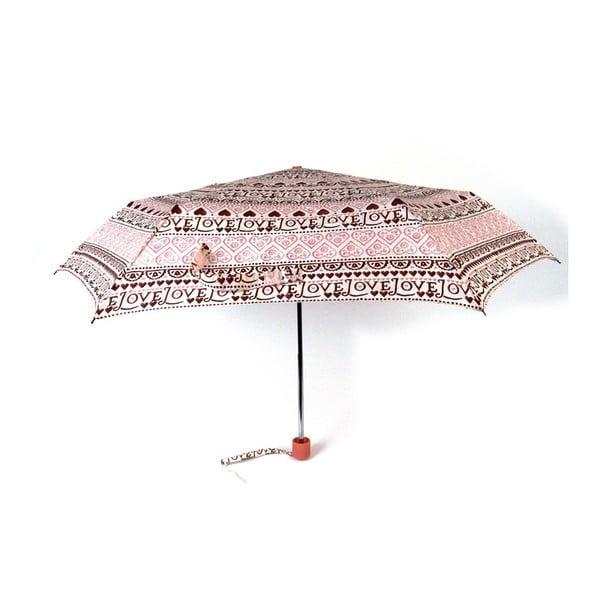 Deštník Emma Bridgewater Love Heart Sampler