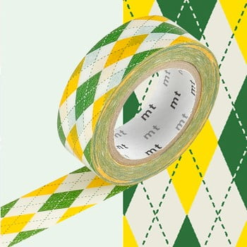 Bandă decorativă Washi MT Masking Tape Estelle, rolă 10 m de la MT Masking Tape