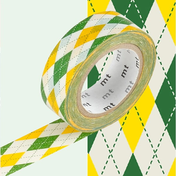 Bandă decorativă Washi MT Masking Tape Estelle, rolă 10 m