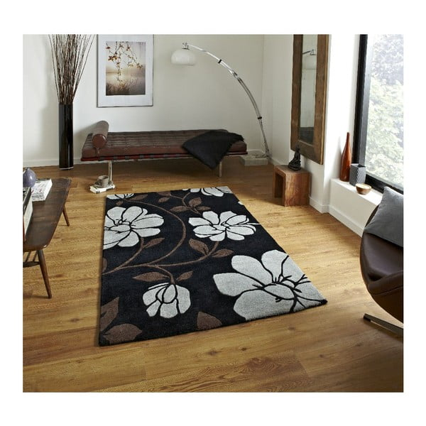 Koberec Fusion 150x230 cm, černý