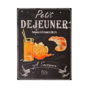 Tăbliță Antic Line Petit Déjeuner