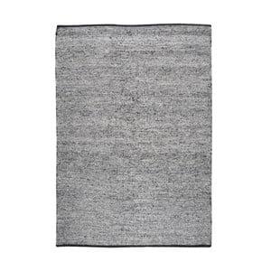 Ručně vyráběný koberec The Rug Republic Traverse Black, 120 x 180 cm
