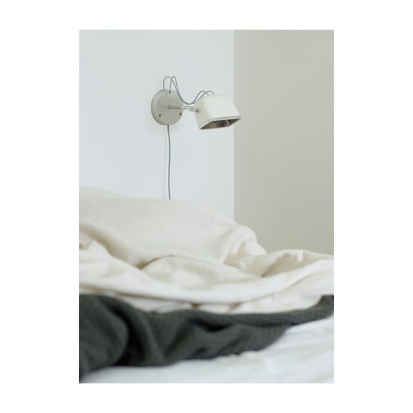 Nástěnná lampa SwabDesign Mob, bílá