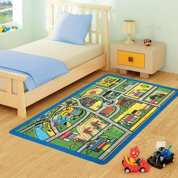 Dětský koberec Confetti 100x150, Traffic