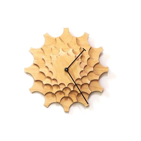 Dřevěné hodiny Cogwheel, 29 cm