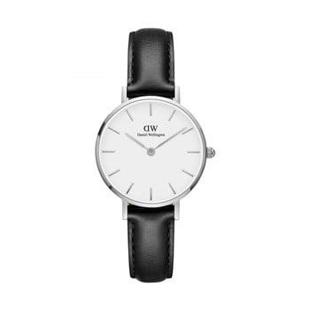 Ceas de damă Daniel Wellington Petite Sheffield, ⌀ 28 mm, alb-argintiu imagine