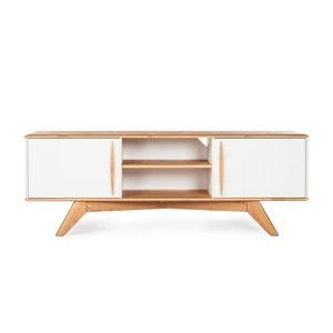 Comodă TV din lemn de pin Askala Maru, lățime 151 cm