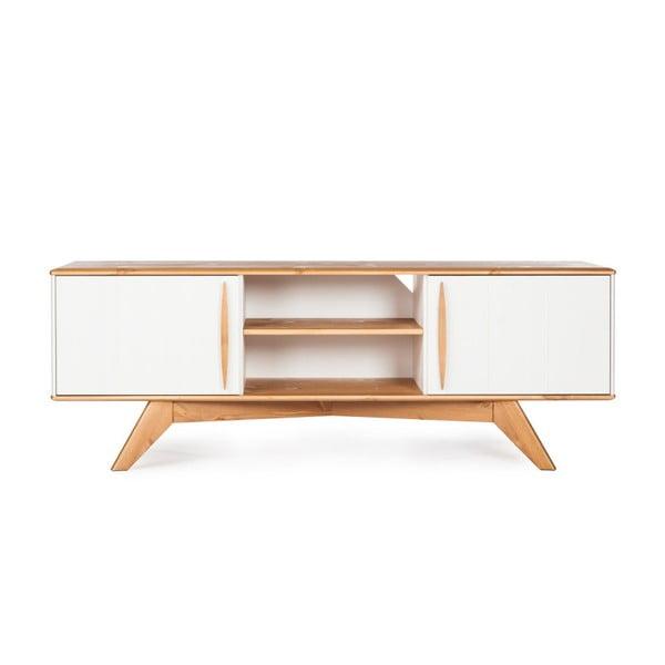 Televízny stolík z borovicového dreva Askala Maru, šírka 151cm