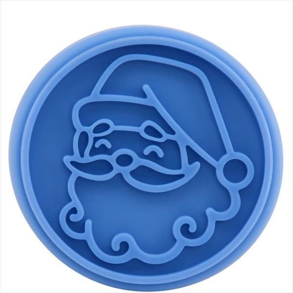 Dřevěné razítko na sušenky Butlers Santa Claus, ⌀ 7 cm