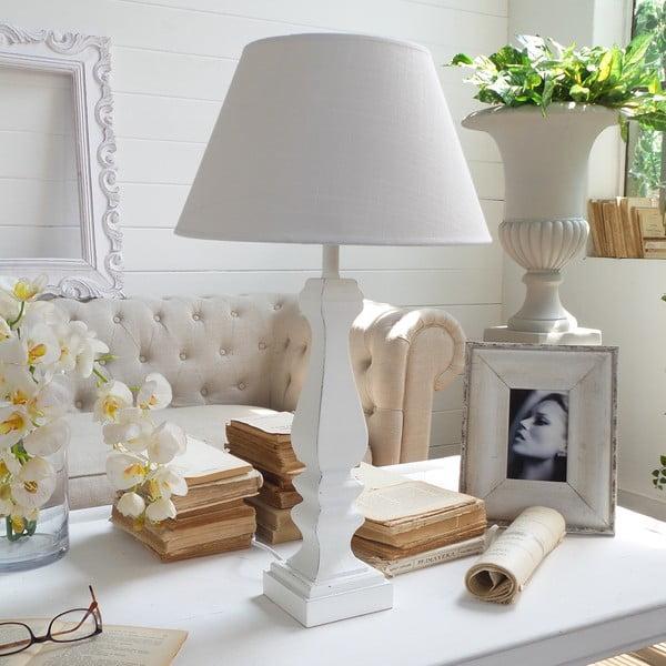 Stolní lampa Antique White
