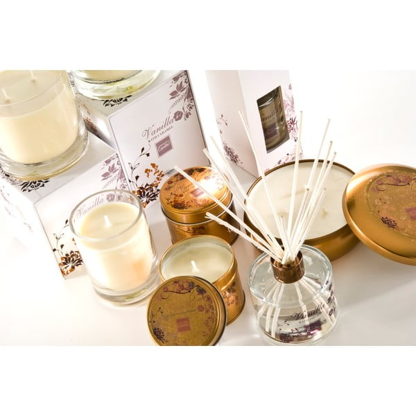 Aroma svíčka v plechovce Vanilla with Lime, doba hoření 32 hodin