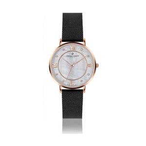 Dámské hodinky s koženým černým páskem Frederic Graff Liskamm