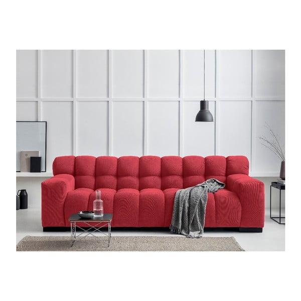 Červená trojmístná pohovka Windsor & Co Sofas Moon