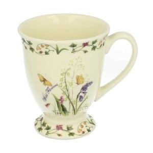 Keramický hrnek s motivem květů Duo Gift, 550 ml