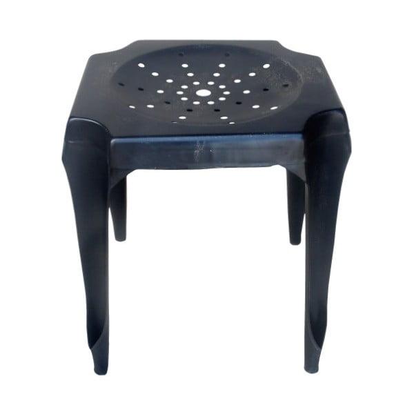 Kovová stolička Tabouret Black