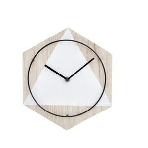 Nástěnné hodiny InArt Snowflakes
