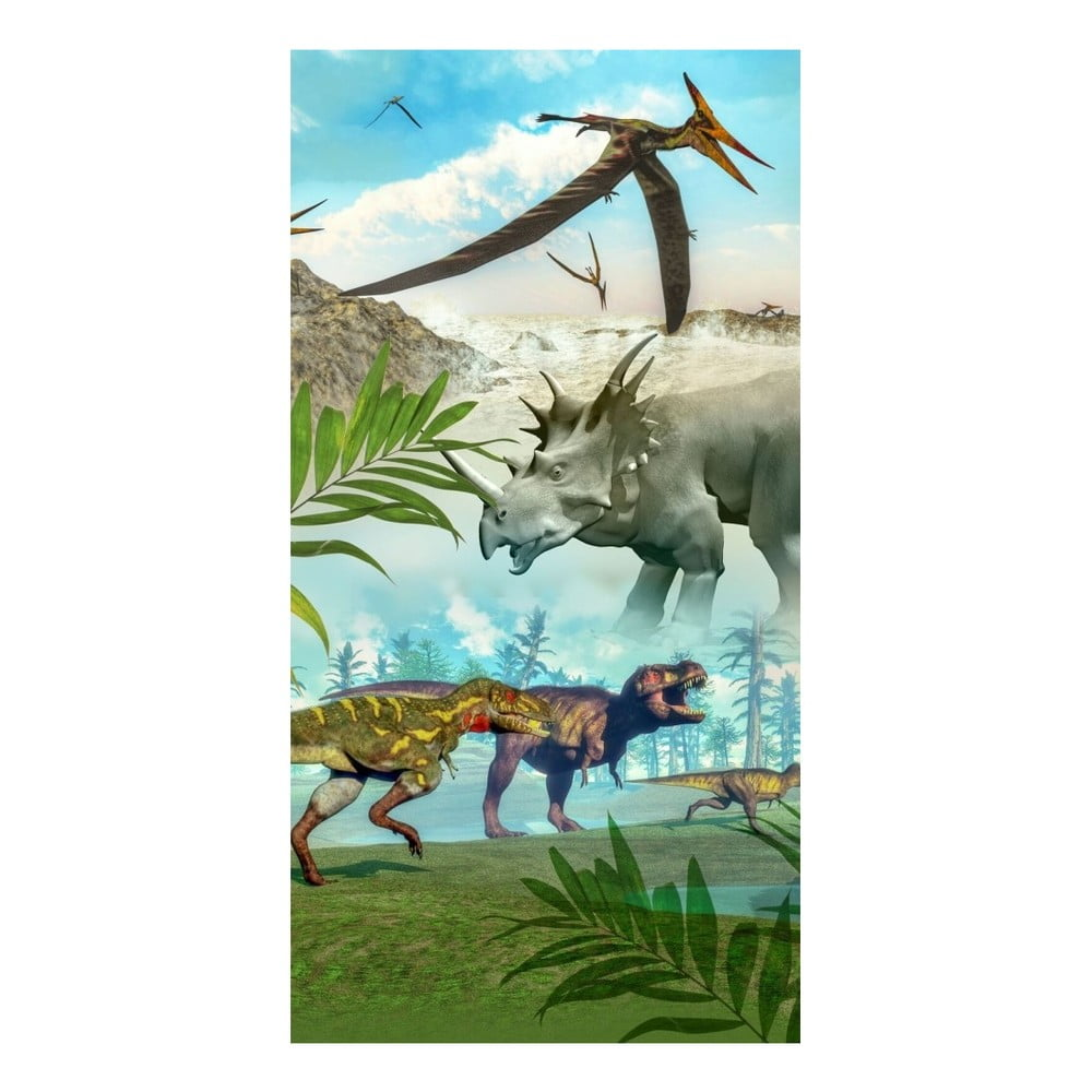Plážová osuška s potiskem HIP Dinoworld, 150 x 75 cm