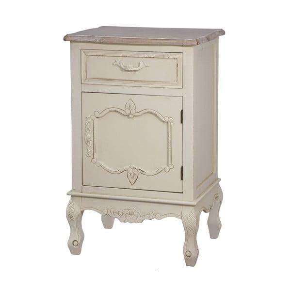 Noční stolek z topolového dřeva Livin Hill Savona