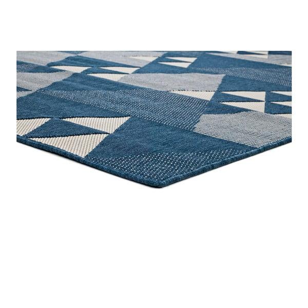Tmavě modrý koberec vhodný i na ven Universal Clhoe, 140 x 200 cm