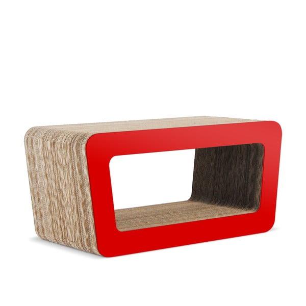 Kartonový televizní stolek Cinema Red