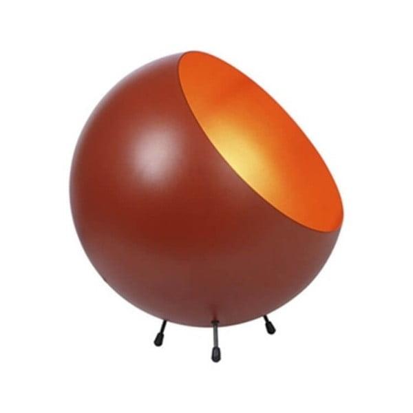 Stolní lampa v terakotově červené černé barvě Leitmotiv Bell