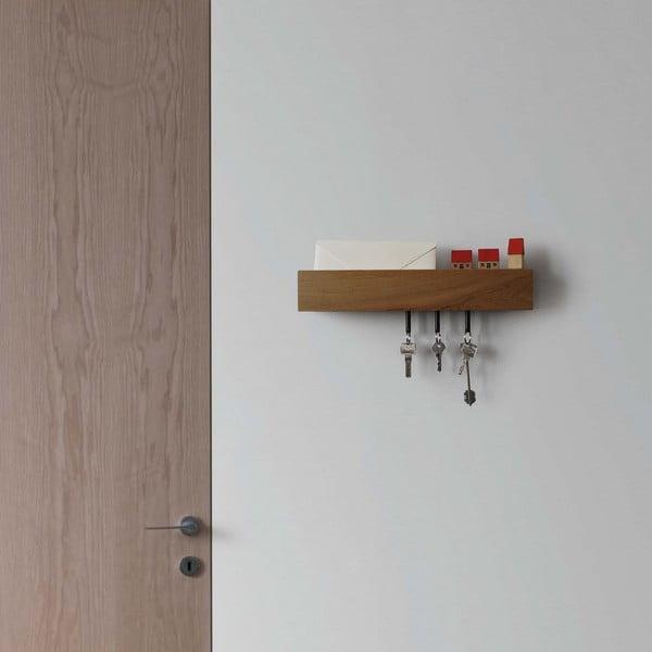 Držák na klíče Rail Chiaro, 40 cm