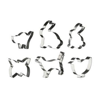 Set 6 forme pentru aluat Premier Housewares Animal imagine