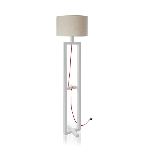 Stojací lampa Dal White