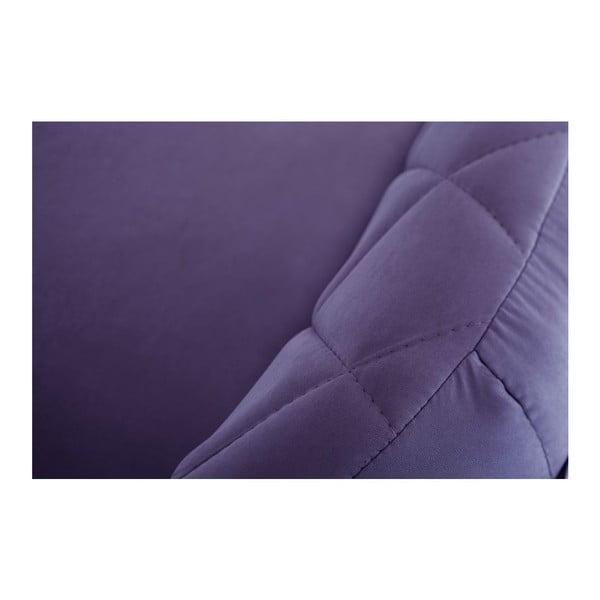 Trojmístná pohovka Diva Criss Cross Dark Purple