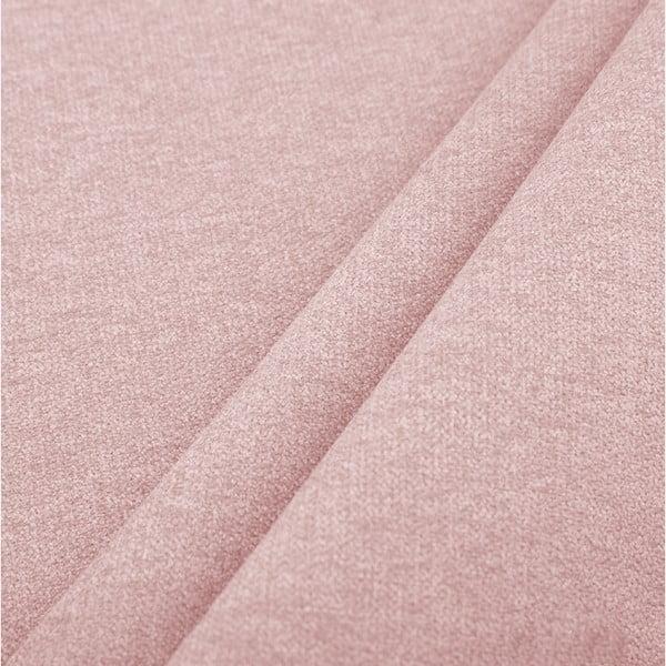 Světle růžová pohovka pro tři Cosmopolitan design Hong Kong