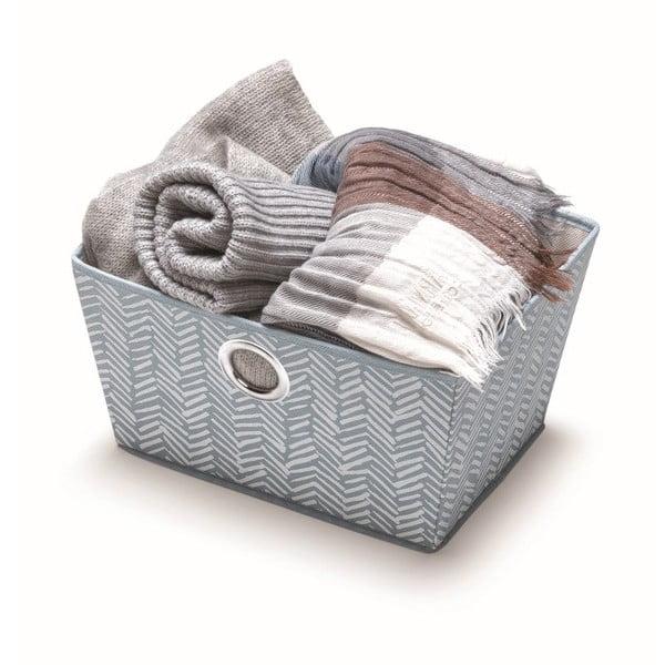 Niebieski koszyk Cosatto Tweed, szerokość 33 cm