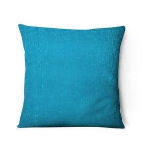 Světle modrý sametový povlak na polštář Series, 43x43cm