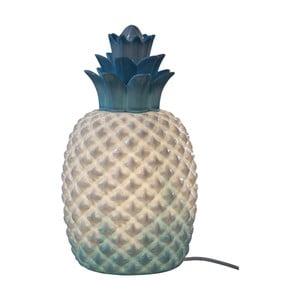 Modro-bílá stolní lampa Opjet Paris Ananas