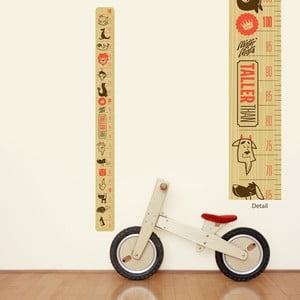 Znovu snímatelná samolepka Taller Than Height Chart