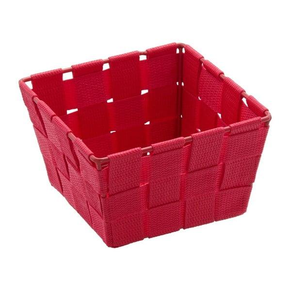 Coș pentru depozitare Wenko Adria, 14 x 14 cm, roșu