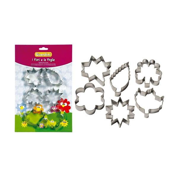Vykrajovátka Cookie cutters Flowers & Leaves